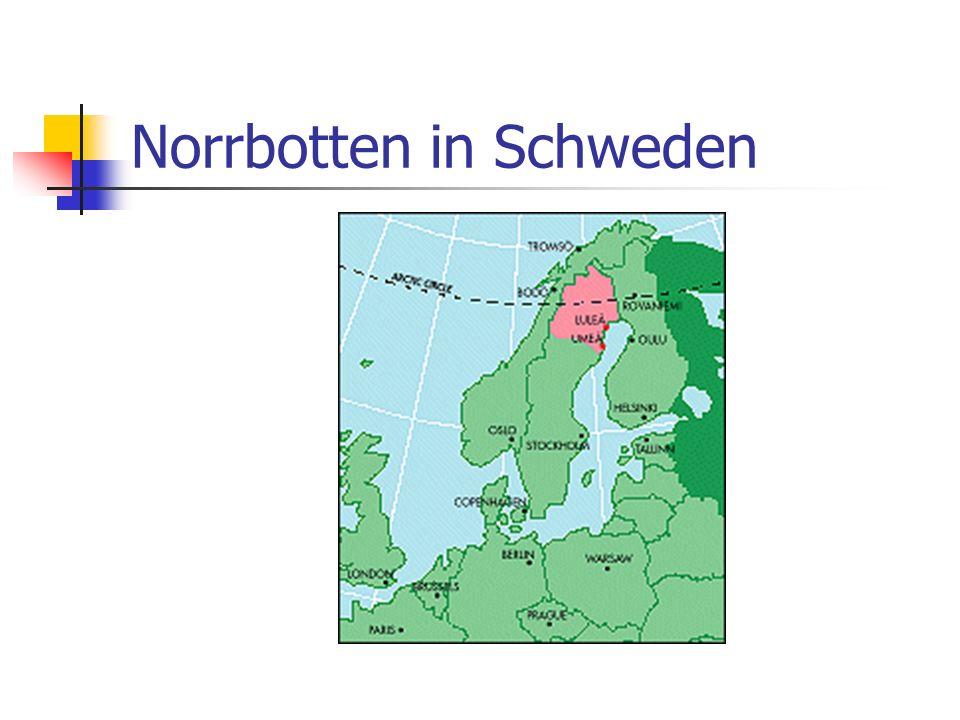 RIS Projekt: Northern Europe (Finnland und Schweden) 1997-1999