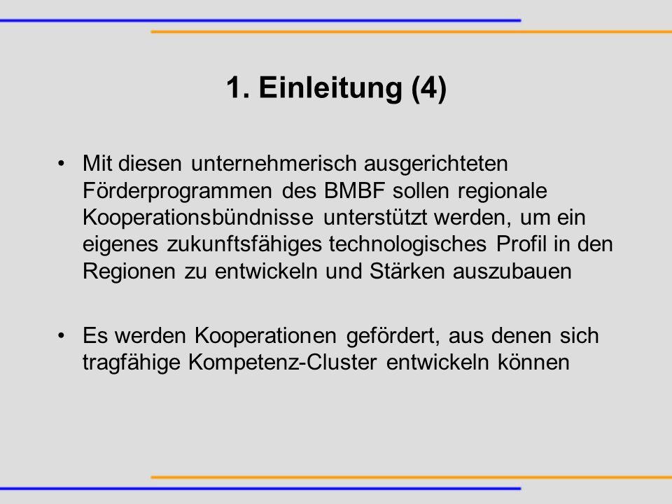 Schwächen des Programms: Kurze Förderungsdauer Problem der Anschlussfinanzierung Aus KORIF, 2003, S.