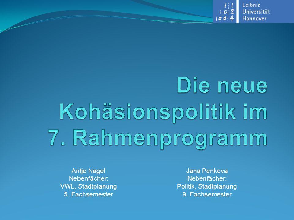 Antje Nagel Nebenfächer: VWL, Stadtplanung 5.