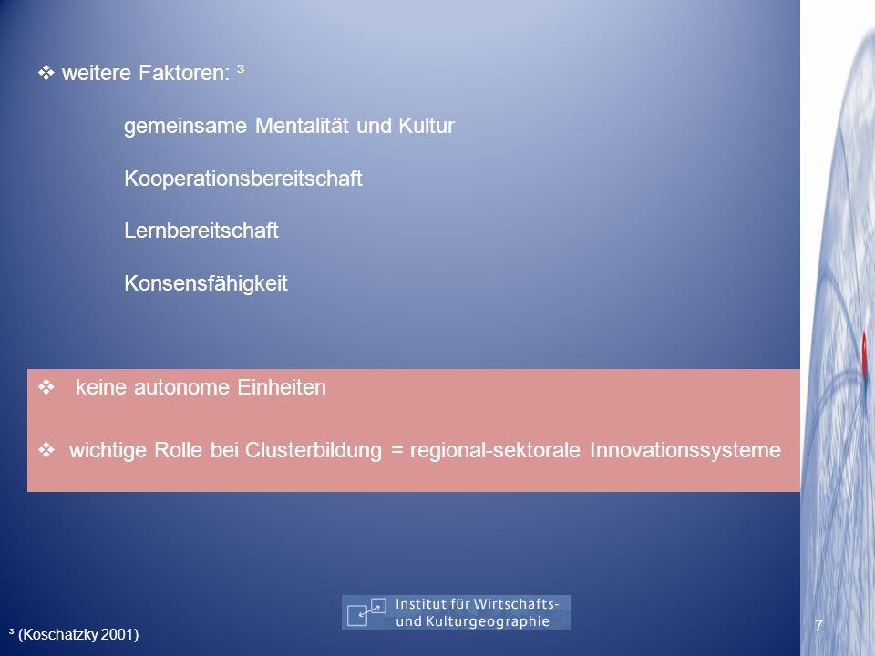 BLÄTTEL-MINK, B.2006: Kompendium der Innovationsforschung.(1 Aufl.).