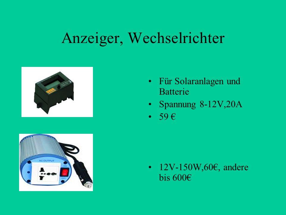 Anzeiger, Wechselrichter Für Solaranlagen und Batterie Spannung 8-12V,20A 59 12V-150W,60, andere bis 600
