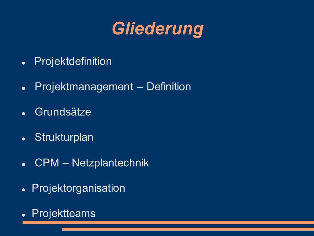 Projektdefinition Was ist eigentlich ein Projekt .