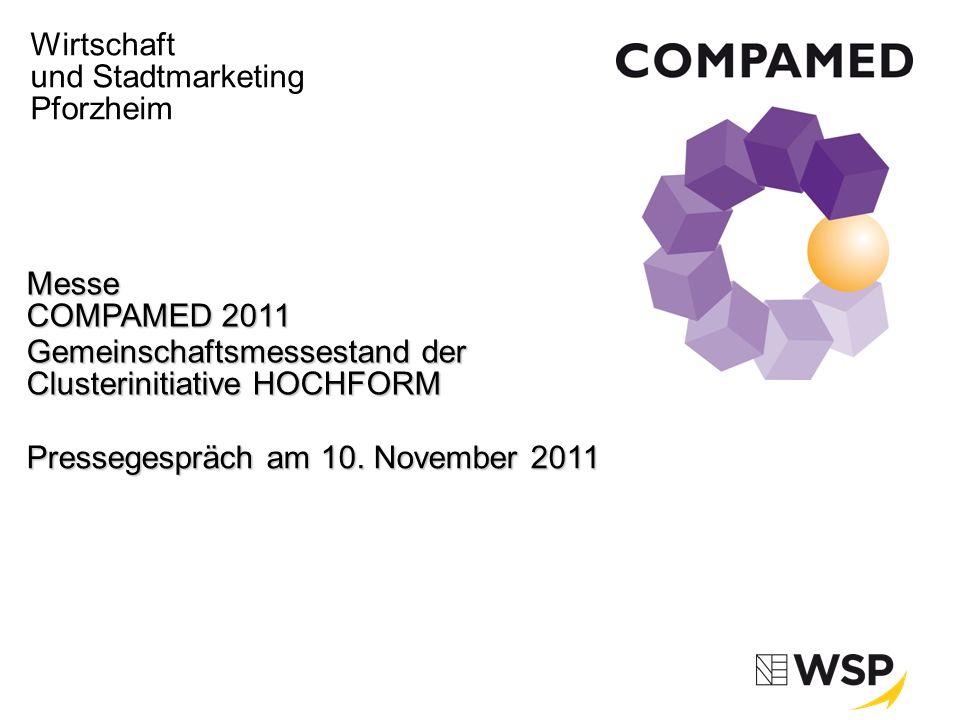 Messe COMPAMED 2011 | 10. November 2011 | Seite 1