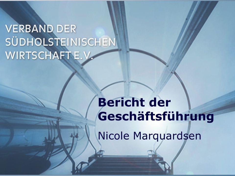 Bericht der Geschäftsführung Nicole Marquardsen