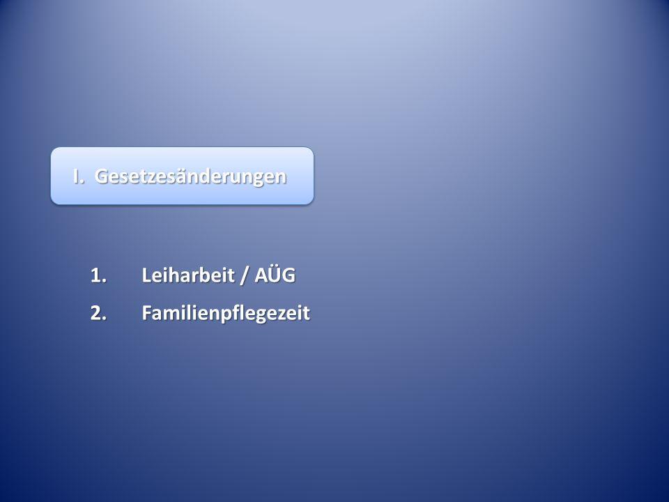 Leiharbeitnehmer und Information über befristete Beschäftigte – BAG Beschl.