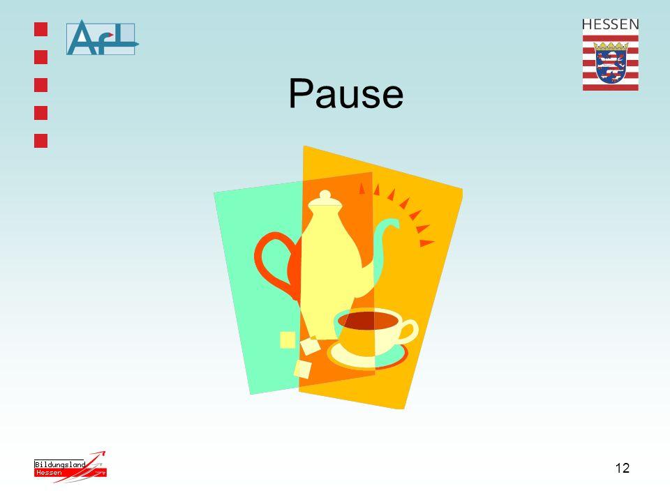 12 Pause