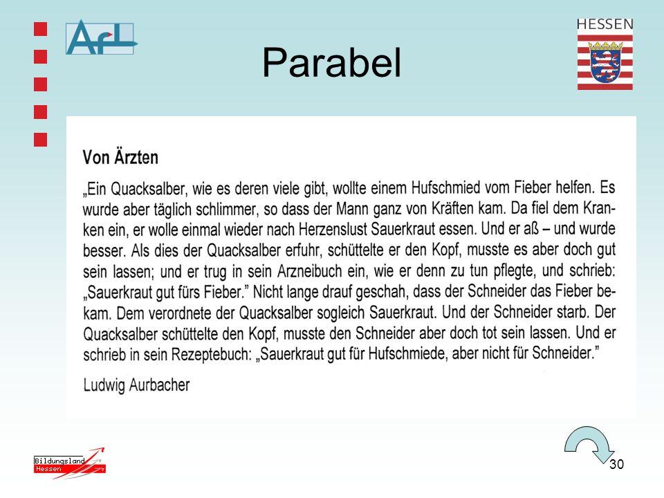 30 Parabel