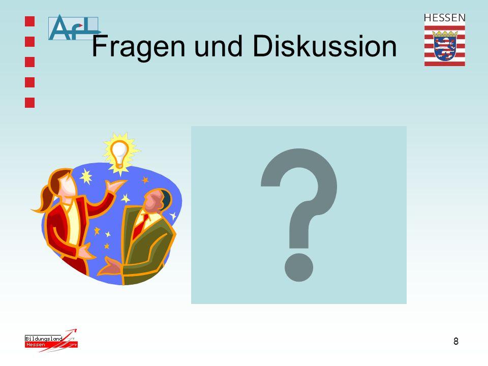 8 Fragen und Diskussion