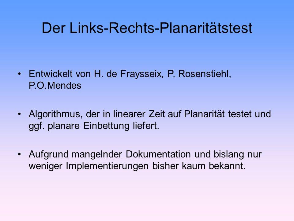 Der Links-Rechts-Planaritätstest Entwickelt von H.