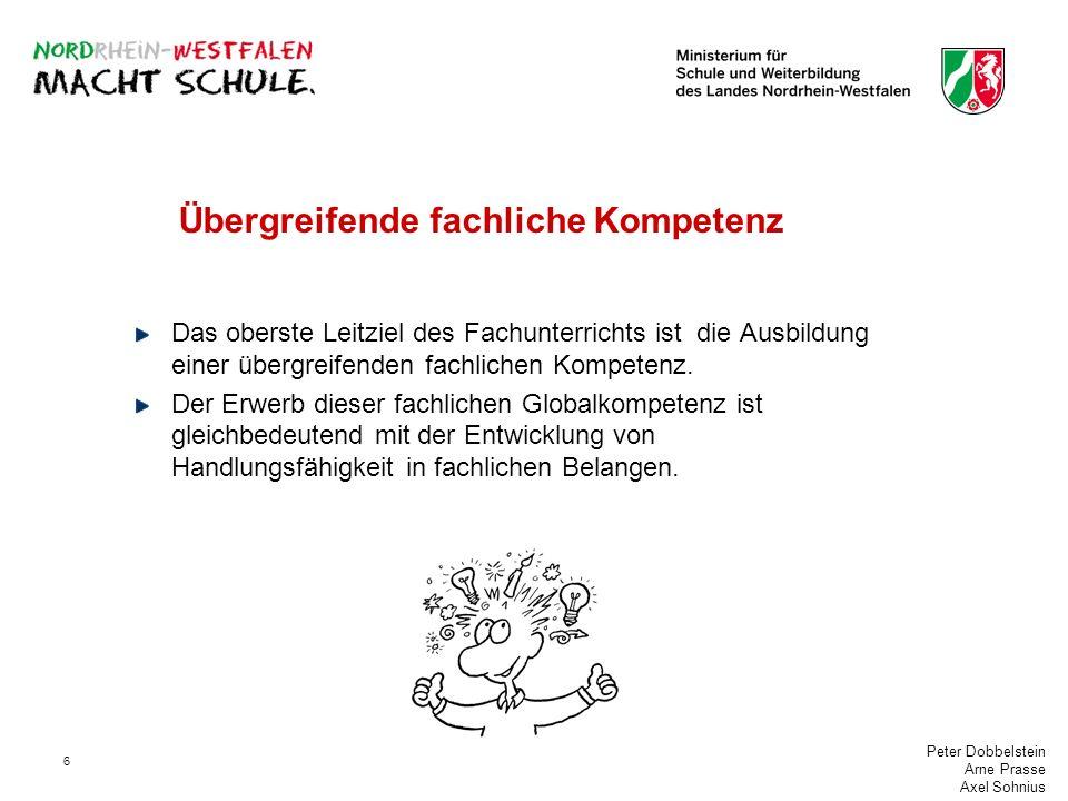 Peter Dobbelstein Arne Prasse Axel Sohnius 7 Aufgaben der Fachkonferenz Die Aufgaben der Fachkonferenz sind im Schulgesetz § 70 (3 und 4) festgelegt: (3) Die Fachkonferenz berät über alle das Fach oder die Fachrichtung betreffenden Angelegenheiten einschließlich der Zusammenarbeit mit anderen Fächern.