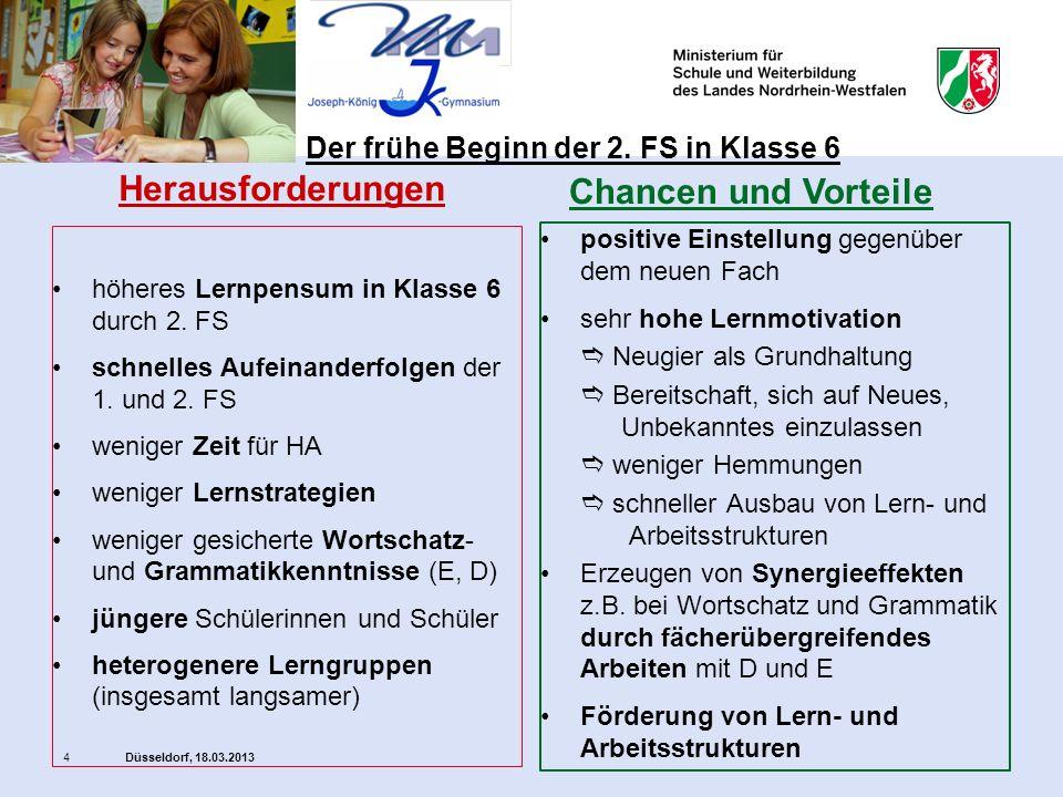 Düsseldorf, 18.03.20135 Vorteile nutzen, um aus Herausforderungen Chancen zu erzielen.