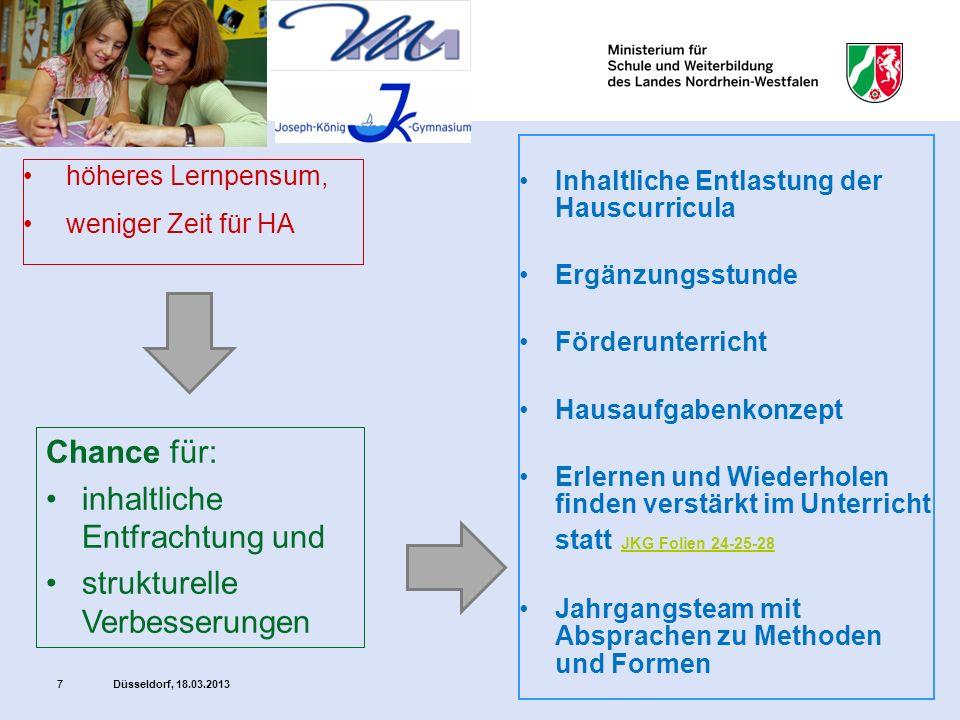 Düsseldorf, 18.03.201328 Gruppenfindungskarten: Im Unterricht üben und wiederholen, sich bewegen