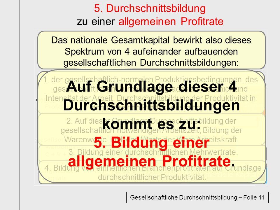 kommerzielle Kapitale industrielle Kapitale kommerzielle Kapitale industrielle Kapitale fungierende Kapitale gesellschaftlicher Wertfonds C + V + M ge