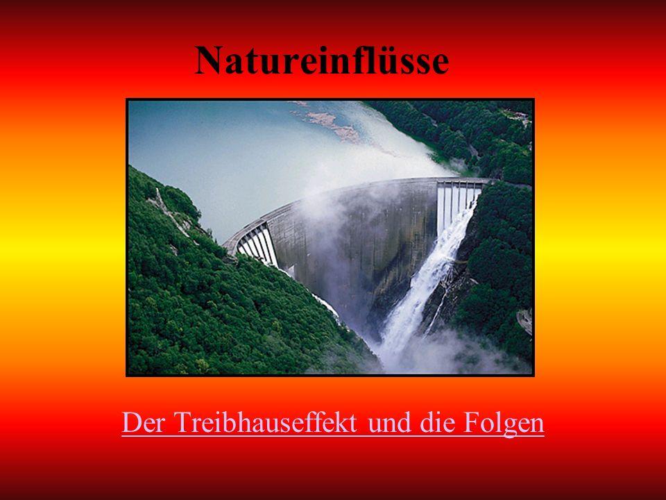 Natureinflüsse Der Treibhauseffekt und die Folgen