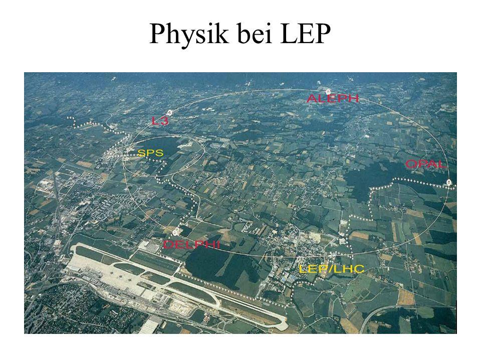Physik bei LEP