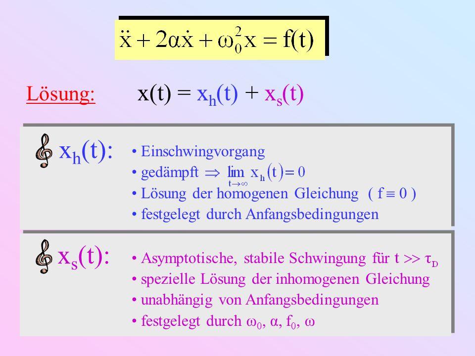 1.3.2.Gleichgewichtsschwingung ( t ) Komplexe...