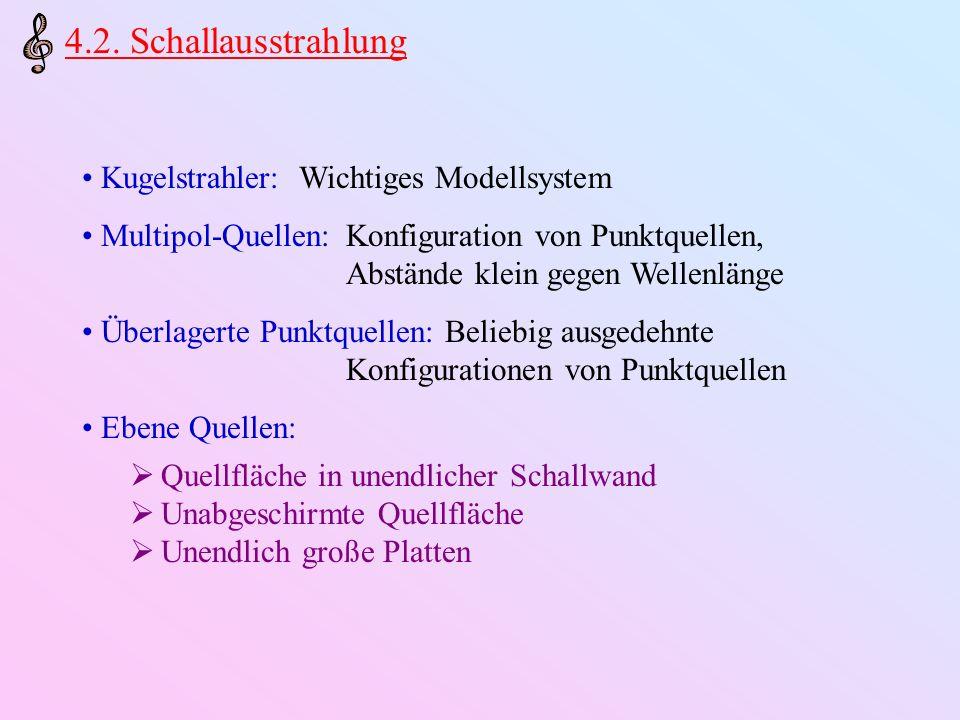 4.2.1.Kugelstrahler Gutes Modellsystem für pulsierende Hohlkörper jeder Form.