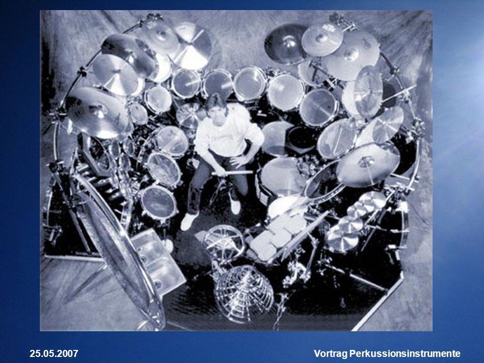 25.05.2007Vortrag Perkussionsinstrumente