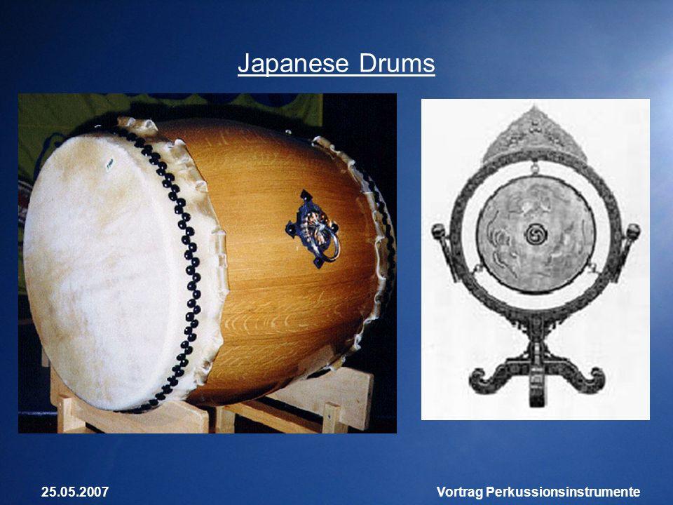 25.05.2007Vortrag Perkussionsinstrumente Japanese Drums