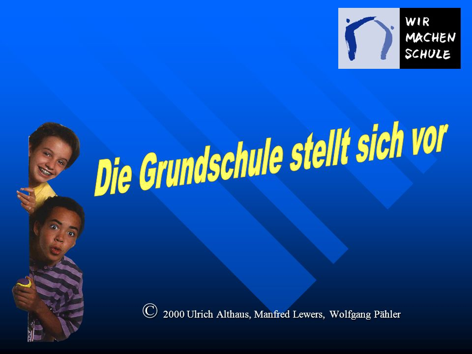 © 2000 Ulrich Althaus, Manfred Lewers, Wolfgang Pähler