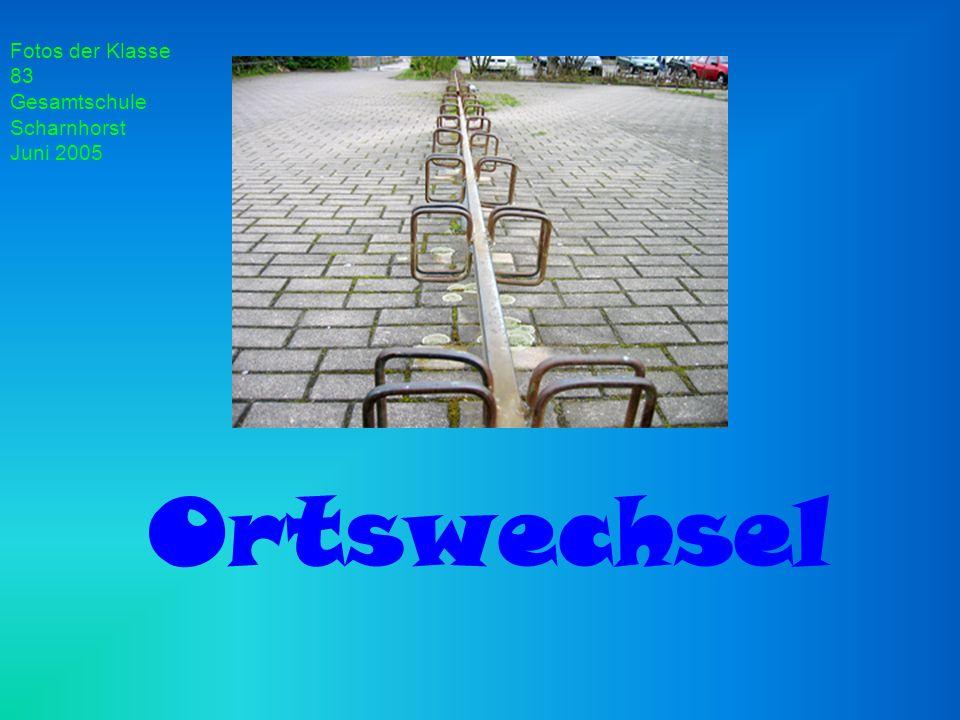 Ortswechsel Fotos der Klasse 83 Gesamtschule Scharnhorst Juni 2005