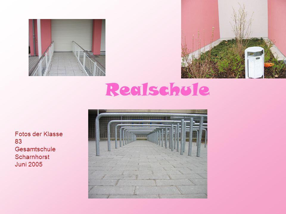 Realschule Fotos der Klasse 83 Gesamtschule Scharnhorst Juni 2005