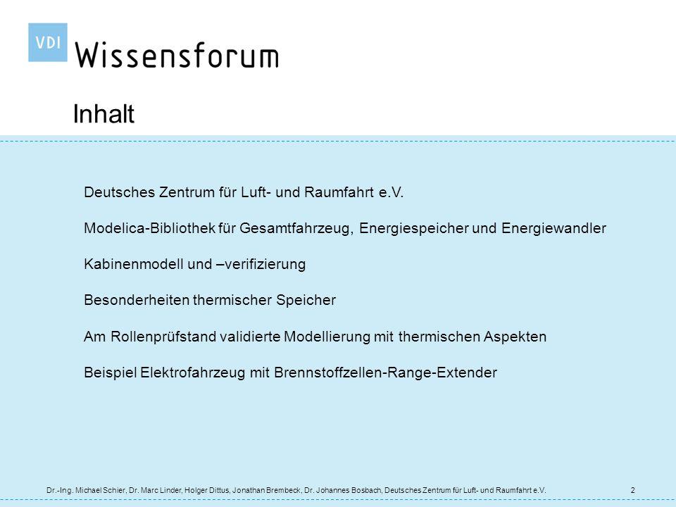 13 Kabinenmodell und -verifizierung Dr.-Ing.Michael Schier, Dr.