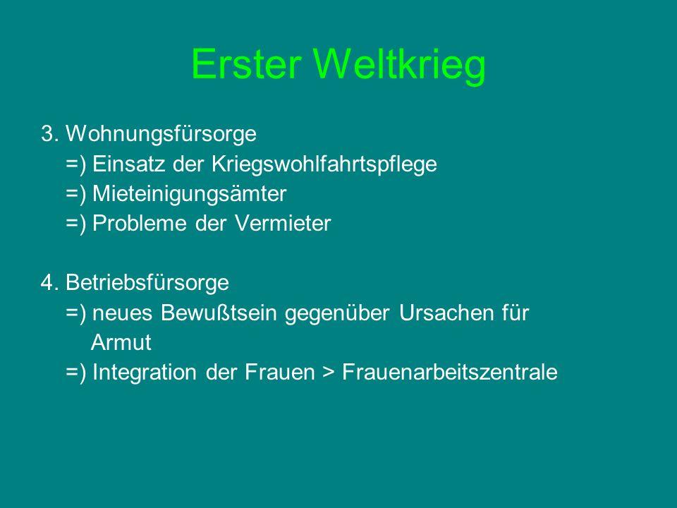 Erster Weltkrieg 3.