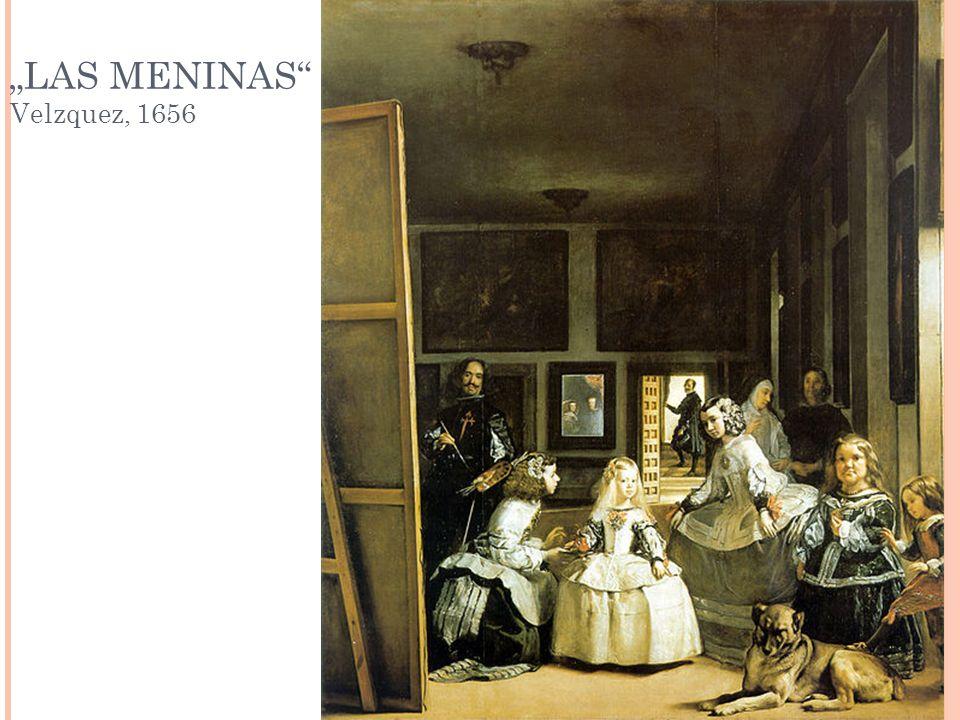 LAS MENINAS Velzquez, 1656