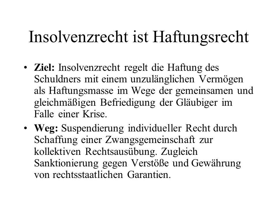 Eröffnungsverfahren Einholung eines SV-Gutachtens zur Feststellung von z.B.: Insolvenzursachen Insolvenzgrund Aufdeckung haftungsrechtlicher Handlungen Prüfung der Fortführungs- und Sanierungsfähigkeit
