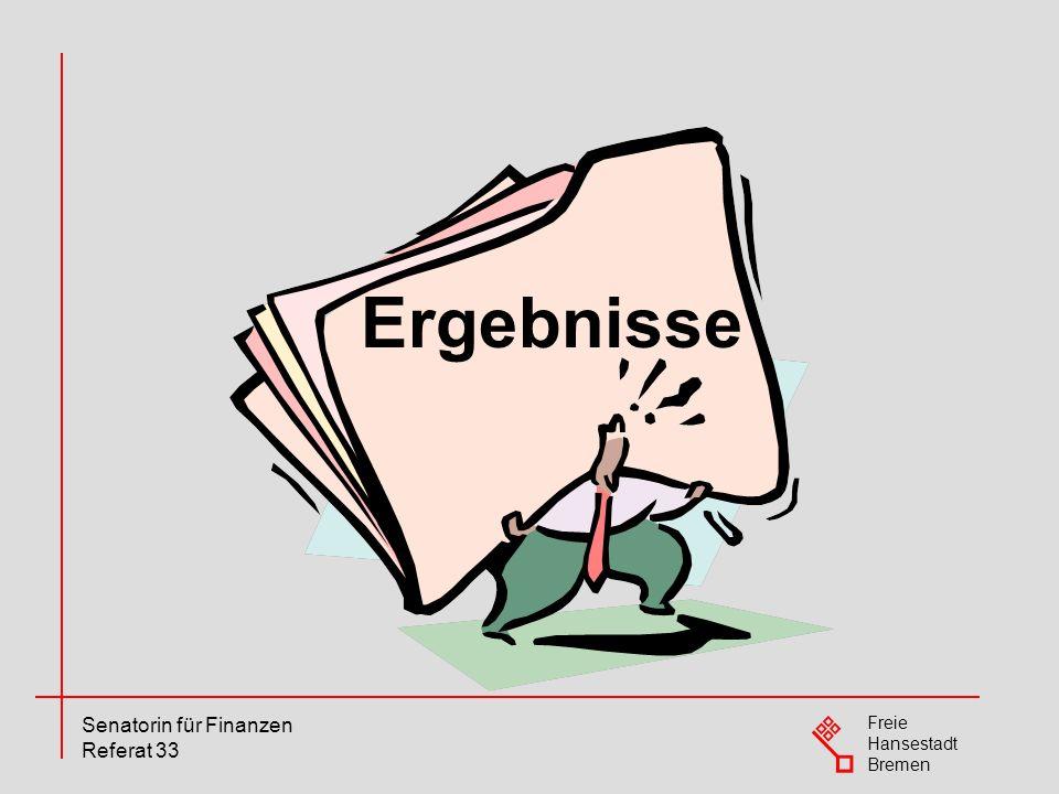 Freie Hansestadt Bremen Senatorin für Finanzen Referat 33 Gesamtergebnisse AP 2008 Hauswirtschaftshelfer/-in - Abschlussprüfungen