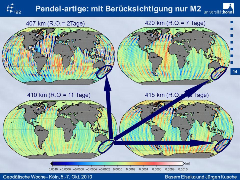 14 Geodätische Woche - Köln, 5.-7. Okt.
