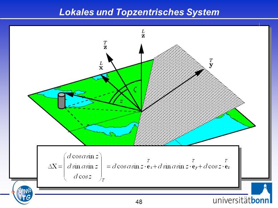48 Lokales und Topzentrisches System