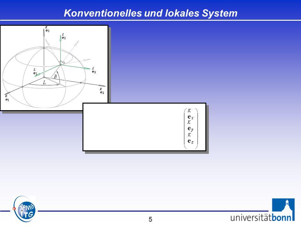 26 Spezielle Transformationen Modell von Bursa-Wolf - Drehpunkt ist der Ursprung des Systems S K - Drehachsen sind Achsen des Systems S K Modell von Bursa-Wolf - Drehpunkt ist der Ursprung des Systems S K - Drehachsen sind Achsen des Systems S K Modell von Molodensky-Badekas - Drehpunkt ist der Fundamentalpunkt der Landesvermessung - Drehachsen sind Achsen des Systems S K Modell von Molodensky-Badekas - Drehpunkt ist der Fundamentalpunkt der Landesvermessung - Drehachsen sind Achsen des Systems S K Modell von Veis - Drehpunkt ist der Fundamentalpunkt der Landesvermessung - Drehachsen sind Achsen des lokalen ellipsoidischen Systems S L Modell von Veis - Drehpunkt ist der Fundamentalpunkt der Landesvermessung - Drehachsen sind Achsen des lokalen ellipsoidischen Systems S L