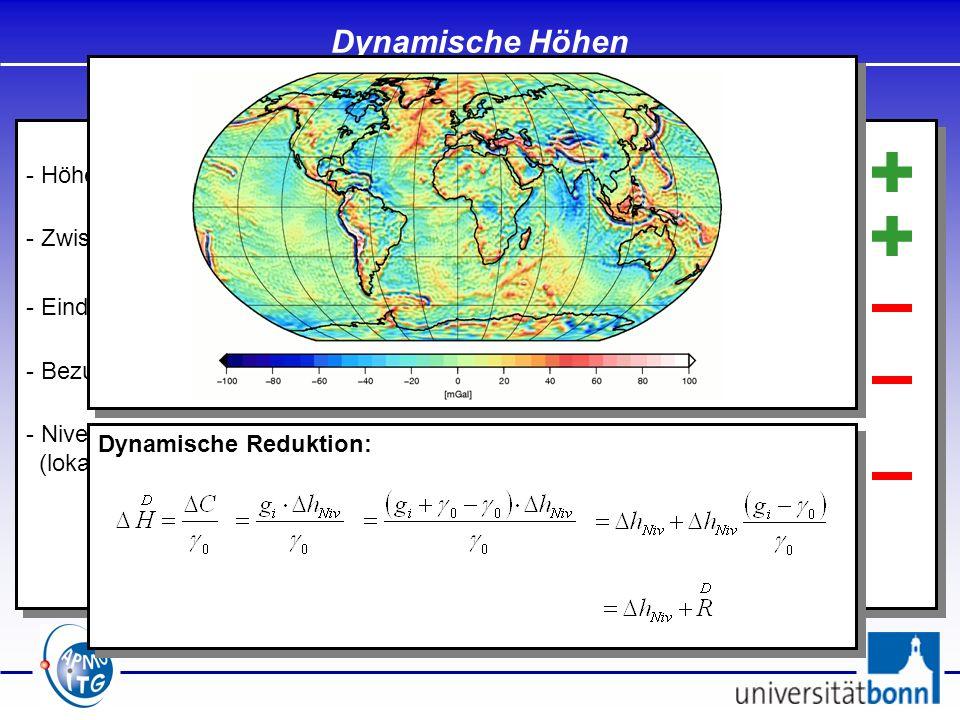 - Höhen sollen eindeutig sein / unabhängig vom Messweg - Zwischen Punkten mit dem gleichen Höhenwert soll kein Wasser fließen - Eindeutige geometrisch