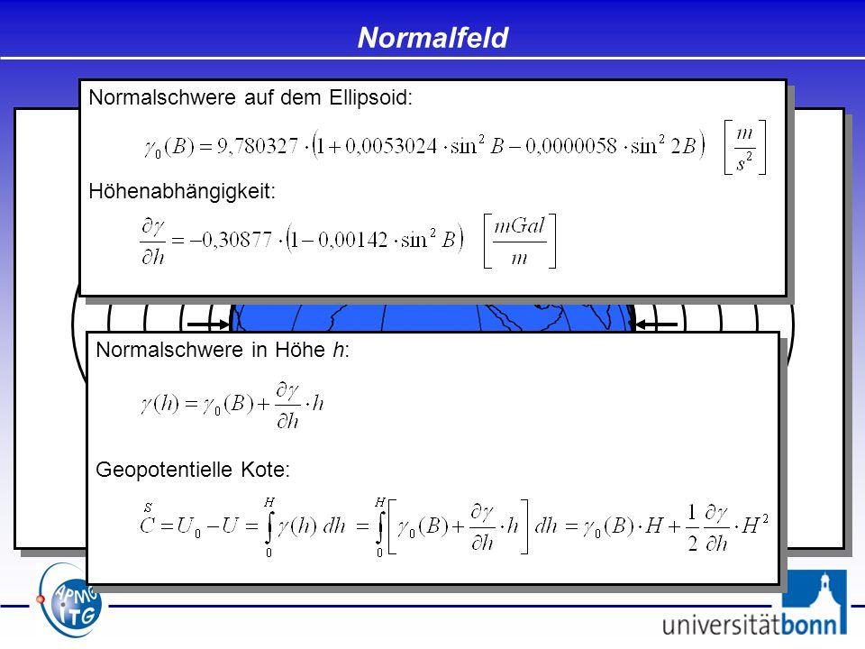 - Höhen sollen eindeutig sein / unabhängig vom Messweg - Zwischen Punkten mit dem gleichen Höhenwert soll kein Wasser fließen - Eindeutige geometrische Bezugsfläche - Bezugsfläche soll in der Nähe des Geoids verlaufen - Nivellementreduktionen sollen klein sein (lokal vernachlässigbar) - Höhen sollen eindeutig sein / unabhängig vom Messweg - Zwischen Punkten mit dem gleichen Höhenwert soll kein Wasser fließen - Eindeutige geometrische Bezugsfläche - Bezugsfläche soll in der Nähe des Geoids verlaufen - Nivellementreduktionen sollen klein sein (lokal vernachlässigbar) Dynamische Höhen A B C