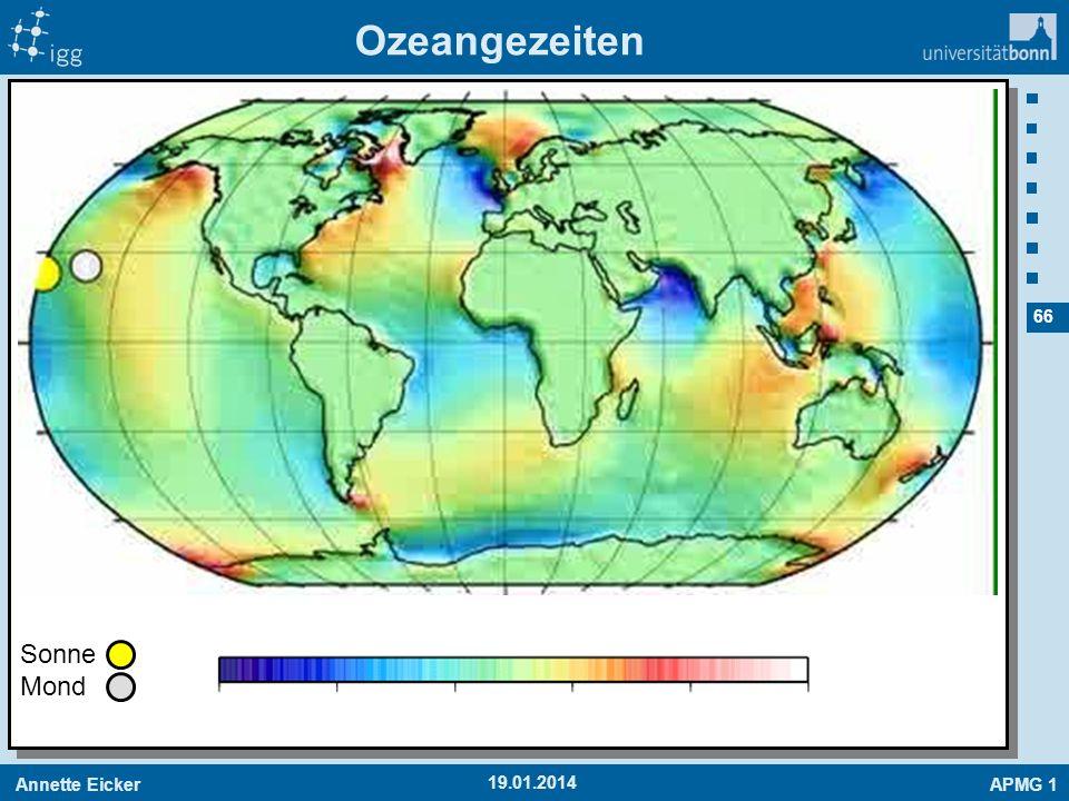 Annette EickerAPMG 1 66 19.01.2014 Ozeangezeiten Sonne Mond