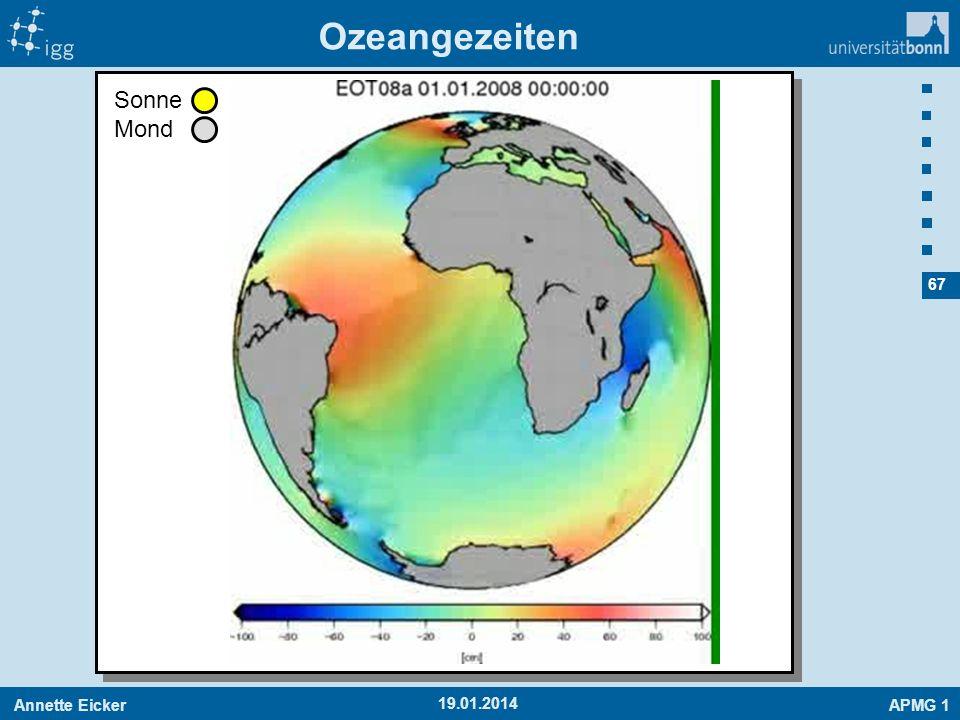 Annette EickerAPMG 1 67 19.01.2014 Ozeangezeiten Sonne Mond
