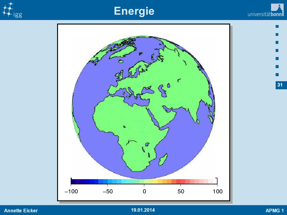 Annette EickerAPMG 1 31 19.01.2014 Energie