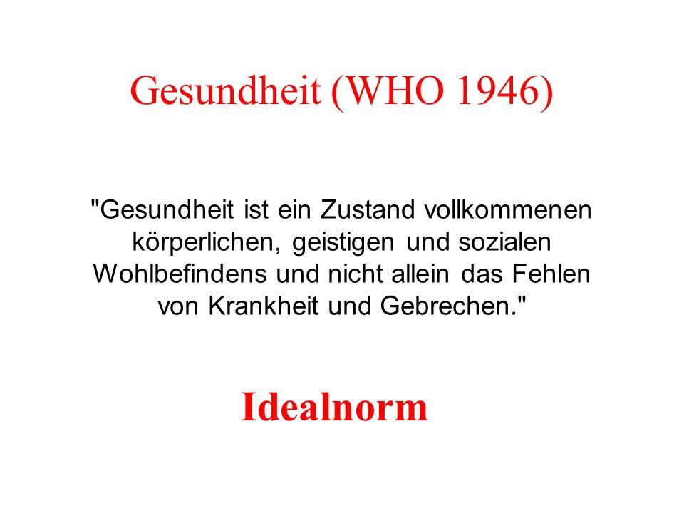 Gesundheit (WHO 1946)