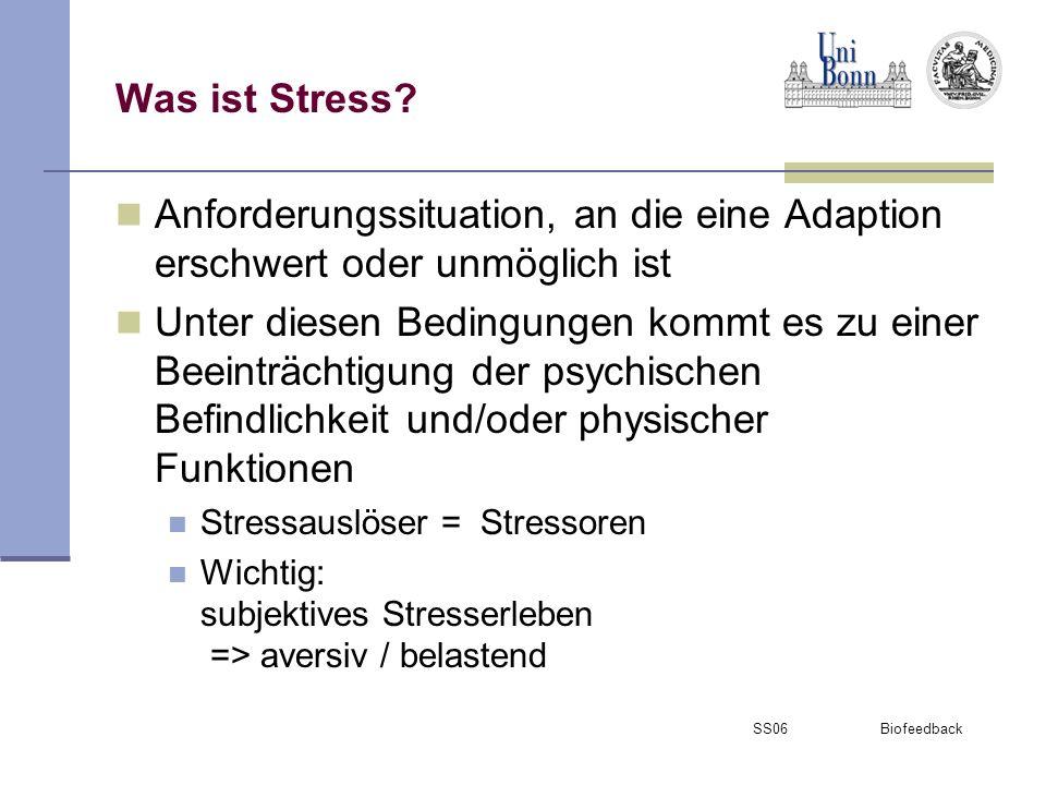 SS06 Biofeedback Formen von Stress.