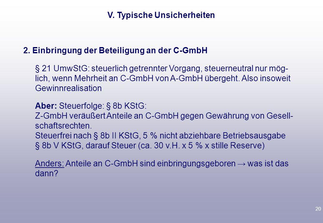 19 V.Typische Unsicherheiten Nutzungsrechtsvereinbarung o.Ä.