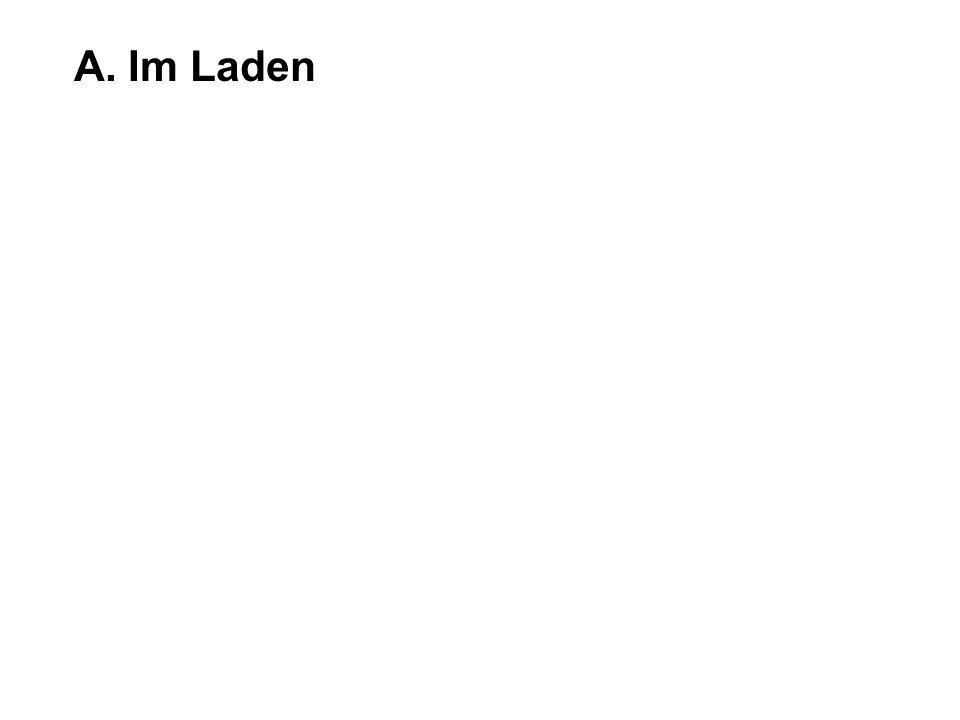 A. Im Laden