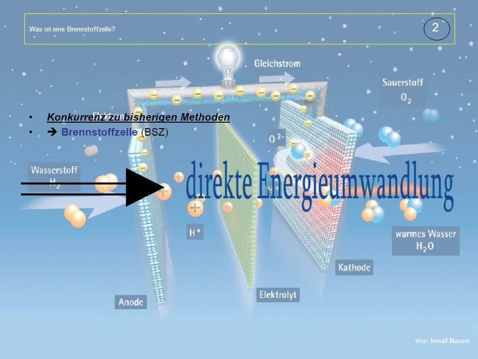 Titelmasterformat durch Klicken bearbeiten Textmasterformate durch Klicken bearbeiten Zweite Ebene Dritte Ebene Vierte Ebene Fünfte Ebene 4 Was ist eine Brennstoffzelle.