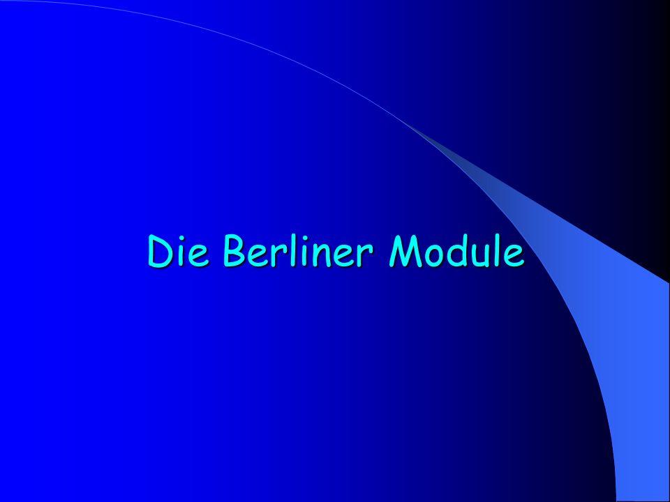 Die Berliner Module