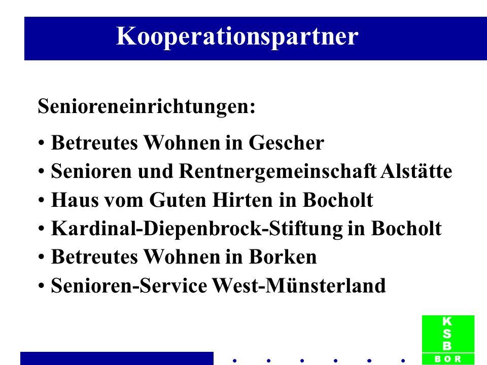 Senioreneinrichtungen: Betreutes Wohnen in Gescher Senioren und Rentnergemeinschaft Alstätte Haus vom Guten Hirten in Bocholt Kardinal-Diepenbrock-Sti