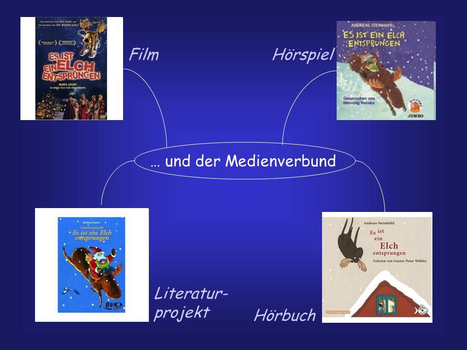 … und der Medienverbund FilmHörspiel Literatur- projekt Hörbuch