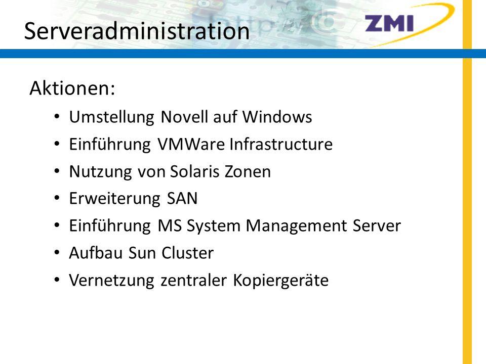 Endgeräte-Support Summa summarum: > 1250 Rechner und Monitore + .