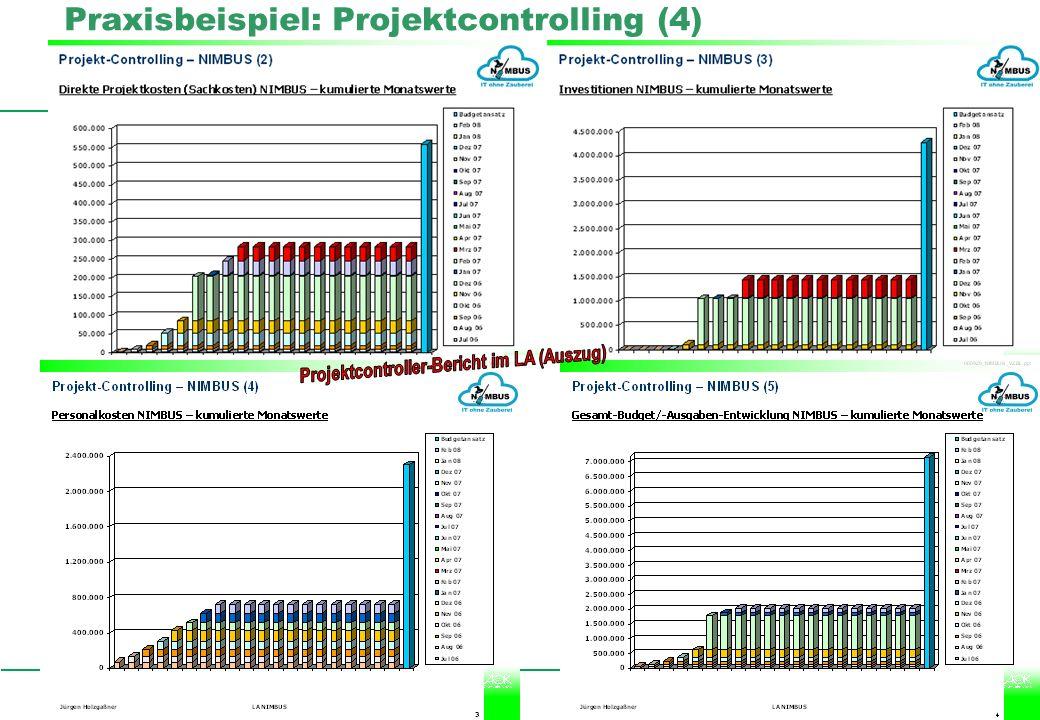 Professionelles Projektmanagement in der Praxis, © 2008 Dr. Harald Wehnes Universität Würzburg, FB Informatik, Prof. Dr. P.Tran-Gia 28 Praxisbeispiel: