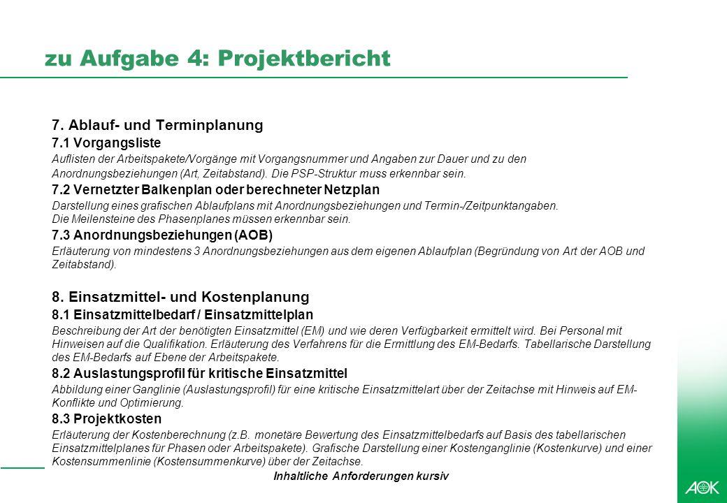 Professionelles Projektmanagement in der Praxis, © 2009 Dr. Harald Wehnes Universität Würzburg, FB Informatik, Prof. Dr. P.Tran-Gia 24 kubus-IT zu Auf